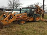 2009 Case 580SM 4WD Loader Backhoe