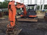 2008 Hitachi ZX35UNA-2 Mini Excavator