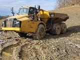 2012 Caterpillar 740B Truck, 2012 cat 740B Truck