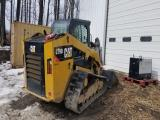2014 Caterpillar 279D H2CB Skid Steer, 2014 cat 279D H2CB Skid Steer