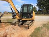 Caterpillar 308E2 CR Excavator, cat 308E2 CR Excavator